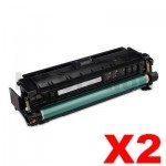 2 x Compatible Canon CART-040BKII Black High Yield Toner - 12,500 pages