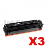 3 x Compatible Canon CART-046BKH Black High Yield Toner Cartridge - 6,300 pages