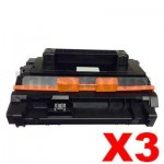 3 x Compatible Canon CART039II Black High Yield Toner - 11,000 pages
