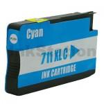 HP 711XL Compatible Cyan Inkjet Cartridge CZ130A