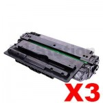 3 x Compatible HP CZ192A Toner Cartridge 93A - 12,000 pages
