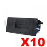 10 x Compatible Kyocera TK-3194 Black Toner Kit P3055DN, P3060DN - 25,000 pages