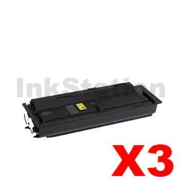 3 x Non-Genuine alternative for TK-479 Black Toner Cartridge suitable for Kyocera FS-6025MFP, FS-6030MFP, FS-6525MFP, FS-6530MFP - 15,000 pages