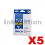 5 x Value Pack - Genuine Epson 133 T1331-1334 Inkjet Cartridges [C13T133692] [5BK,5C,5M,5Y]