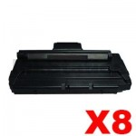 8 x Fuji Xerox Phaser 3115 / 3130 Compatible Toner Cartridge - 3,000 pages (CWAA0524)