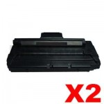 2 x Fuji Xerox Phaser 3116 Compatible Toner Cartridge - 3,000 pages (109R748)