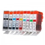 Any 10 Compatible Canon BCI-3e & 6 Inkjet Cartridges