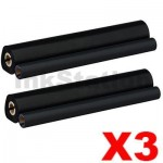 3 x Brother PC-302RF Compatible Thermal Printing Ribbons [2 rolls Value Pack]