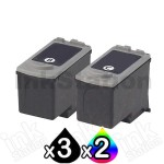5 pack Canon PG-40 CL-41 Compatible Combo Pack [3BK,2C]