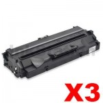 3 x Compatible Samsung SF-5100D3 Black Toner Cartridge - 3,000pages