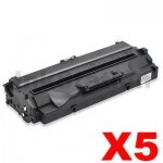 5 x Compatible Samsung SF-5100D3 Black Toner Cartridge - 3,000pages
