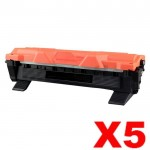 5 x Brother TN-1070 Compatible Toner - 1,000 pages