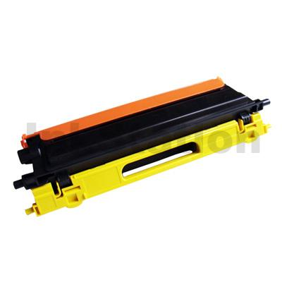 Brother TN-155Y Compatible Yellow Toner Cartridge - 4,000 pages (TN155 is High Capacity Version of TN150)