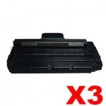 3 x Lexmark X215 Compatible Toner Cartridge - 3,200 pages