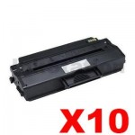 10 x Dell B1260, B1265 Compatible Toner Cartridge - 2,500 pages