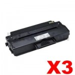 3 x Dell B1260, B1265 Compatible Toner Cartridge - 2,500 pages