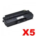 5 x Dell B1260, B1265 Compatible Toner Cartridge - 2,500 pages
