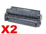 2 x Canon EP-25 Black Compatible Toner Cartridge - 2,500 pages