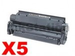 5 x Canon EP-25 Black Compatible Toner Cartridge - 2,500 pages