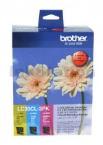 Genuine Brother LC-39CL3PK Colour Pack [C+M+Y] - 260 Pages each