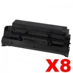 8 x Lexmark 13T0101 Compatible Black Laser Toner Cartridge