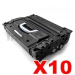 10 x HP CF325X (25X) Compatible Black Toner Cartridge - 40,000 Pages