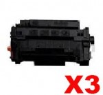 3 x Canon CART-324II Black High Yield Compatible Toner Cartridge - 12,500 pages
