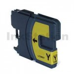 Compatible Brother LC-133Y Yellow Ink Cartridge - 600 Pages