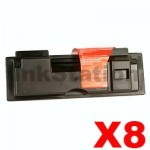 8 x Non-Genuine TK-17 Toner Cartridge For Kyocera FS-1000, FS-1010 - 6,000 pages