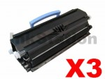 3 x Lexmark X203/X204 Compatible Toner Cartridge X203A11G - 2,500 pages