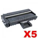 5 x Ricoh Aficio SP201N / SP204SF Compatible Toner Cartridge [407256] - 2,600 pages