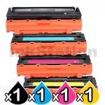 4-Pack Compatible Samsung SLC3010ND SLC3060FR [CLT503L] Toner Combo [1BK,1C,1M,1Y]