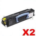 2 x Lexmark E230/E232/E330/E332/E342 Compatible Toner Cartridge (34217XR)
