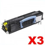 3 x Lexmark E260 / E360 / E460 Compatible Toner Cartridge (E260A11P)