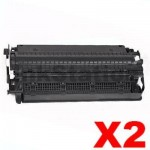 2 x Canon  E-30 / E-31 Black Compatible Toner Cartridge - 3,700 pages