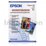 Epson S041328 Genuine Premium Semigloss Photo Paper 250gsm A3+ (329mm x 483mm) - 20 sheets