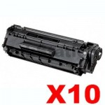10 x Canon FX-9 Black Compatible Toner Cartridge 2,000 pages