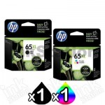 2 Pack HP 65XL Genuine High Yield Ink Combo N9K04AA + N9K03AA [1BK,1CL]