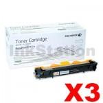 3 x Genuine Fuji Xerox DocuPrint P115b,P115w,M115w,M115fw Black Toner - 1,000 pages (CT202137)