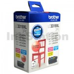 Genuine Brother LC-3319XL3PK Colour Pack [C+M+Y] - 1,500 Pages each