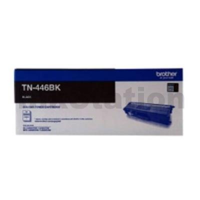 Genuine Brother TN-446BK Black Toner Cartridge - 6,500 pages