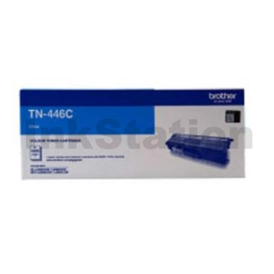 Genuine Brother TN-446C Cyan Toner Cartridge - 6,500 pages