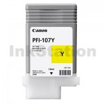 Genuine Canon PFI-107Y Yellow Ink Cartridge