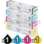 4 Pack Canon TG-65 Genuine Black Toner Cartridge [BK,C,M,Y]