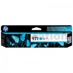 HP 971 Genuine Cyan Inkjet Cartridge CN622AA - 2,500 Pages