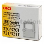 OKI GENUINE Ribbon 100/320 MICROLINE 172 183 184 192 193 320 321 - approx 3M characters (44641501)