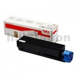 1 x OKI Genuine B432 B512 MB472 MB492 MB562 Black Toner Cartridge - 3,000 pages (45807103)