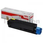 OKI Genuine C831N Yellow Toner Cartridge - 10,000 pages (44844525)