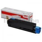 OKI Genuine C831N Cyan Toner Cartridge - 10,000 pages (44844527)