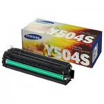Genuine Samsung CLP415N CLP415NW CLX4195FW CLX4195FN Yellow Toner Cartridge SU504A - 1,800 pages [CLT-Y504S Y504]